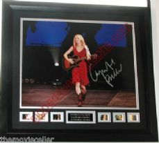 "GWYNETH PALTROW SIGNED ""COUNTRY STRONG"" SIGNED FRAMED LARGE 11x14 photo 25% off sale! WAS £125.99 now £94.50"
